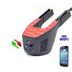 Carro escondido dvr dash cam câmera de carro wifi 1080p carro dvr full hd visão noturna veículo motorizado veículo suporte andriod e ios