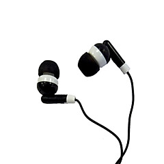 In-Ear-kuuloke kanssa kohinanpoisto iPod/iPod/phone/MP3 (musta)