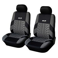 ajuste universal para o carro, caminhão, suv, ou van assento de carro de poliéster cobrir tampa do assento da frente (4 peças set)