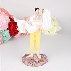 Kakepynt Klassisk Par Bryllup Spesiell Leilighet Strand Tema Nautisk Eventyr Tema Tegneserie Gaveeske