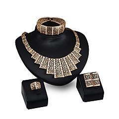 Žene Ogrlice s privjeskom Umjetno drago kamenje Moda Personalized Umjetno drago kamenje Pozlaćeni Legura Geometric Shape ZaParty Večer