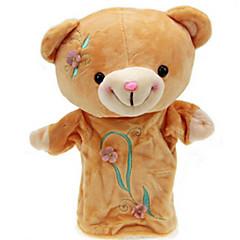 Prstová loutka Medvěd Bavlněné tkaniny