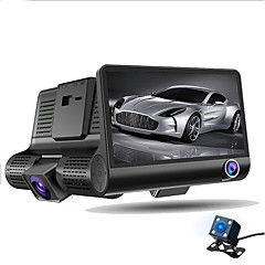 Allwinner Full HD 1920 x 1080 DVR para Carro 4 Polegadas Tela 1 Câmera Automotiva