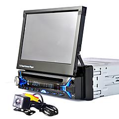 автомобильный радио аудио 1 din 7 '' дюймовый сенсорный экран с сенсорным экраном мультимедиа видео dvd player bluetooth