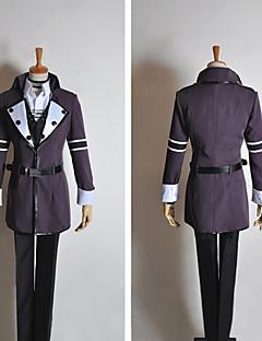 Inspiré par Vocaloid Kamui Gakupo Vidéo Jeu Costumes de cosplay Costumes Cosplay Mosaïque Noir Manche LonguesManteau / Veste / Chemise /