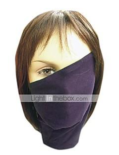 Máscara Inspirado por Naruto Hatake Kakashi Anime Acessórios de Cosplay Máscara Preto Poliéster Masculino
