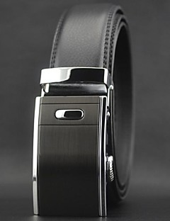 Men's Fashion Automatic Buckle Leather Belt Christmas Gifts