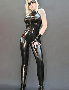 מדים סקסי השלב של פאנק ליידי LadyGaga סגנון השחור PU הנשים