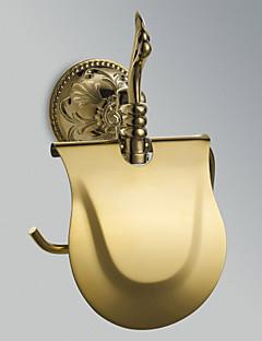 "Toiletrulleholder Ti-PVD Vægmonteret 210 x 185 x 80mm (8.26 x 7.28 x 3.14"") Messing Antik"