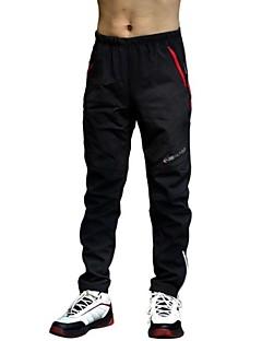 Realtoo Cyklo kalhoty Dámské Pánské Unisex Jezdit na kole Kalhoty Spodní část oděvuVoděodolný Zahřívací Větruvzdorné Zateplená podšívka