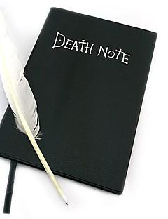 Enemmän lisävarusteita Innoittamana Death Note Cosplay Anime Cosplay-Tarvikkeet Enemmän lisävarusteita Musta Paperi / PU-nahkaUros /