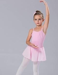 Kinderdanskleding Tutu Jurken Dames Kinderen Katoen Strik(Ken) Mouwloos