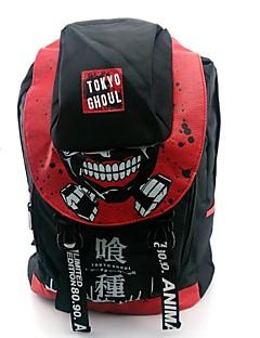 Laukku Innoittamana Tokio Ghoul Cosplay Anime Cosplay-Tarvikkeet Laukku / Backpack Punainen Nylon / PVC Uros / Naaras