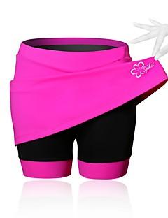 SPAKCT Saia para Ciclismo Mulheres Moto Saias e Vestidos Shorts Shorts Acolchoados CalçasRespirável Compressão Tapete 3D Reduz a