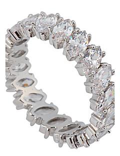 Kadın's İfadeli Yüzükler Aşk lüks mücevher Gelin kostüm takısı Zirkon Değerli Taş Simüle Elmas Mücevher Mücevher Uyumluluk Düğün Parti