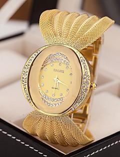 Dámské Hodinky k šatům Módní hodinky Křemenný imitace Diamond Slitina Kapela Třpyt Stříbro Hnědá Zlatá Stříbrná Zlatá Hnědá - zlatá