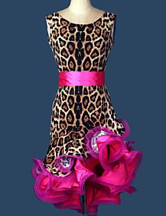 אנחנו צריכים ללבוש ריקודים לטינית נשים אימון סטרץ 2 חתיכות חגורת המותניים השמלה