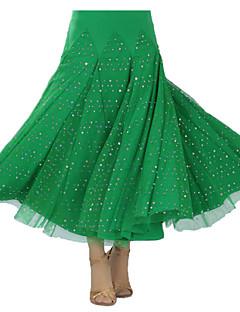 Standardní tance tutu a sukně Dámské Výkon Süt Filtresi Nařasený Jeden díl Sukně 90