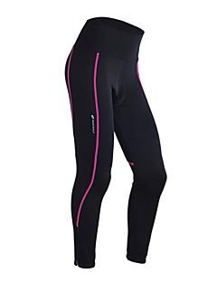 Nuckily Calças Elásticas para Ciclismo Mulheres Moto Calças 3/4 calças justasTérmico/Quente Secagem Rápida A Prova de Vento Design
