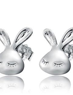 Oorknopjes Modieus Sterling zilver Zilver Sieraden Voor Bruiloft Feest Dagelijks 2 stuks