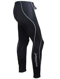 Jaggad Calças Para Ciclismo Homens Moto Meia-calça Calças Secagem Rápida Respirável Tiras Refletoras Tapete 3D Nailom Sólido Primavera