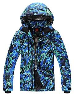 Roupa de Esqui Jaquetas de Esqui/Snowboard Homens Roupa de Inverno Poliéster Vestuário de Inverno Térmico/Quente A Prova de Vento Vestível