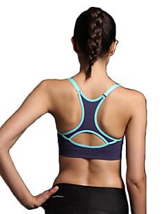 Esportivo®®Ioga Sutiã / Roupa-Interior / Blusas Respirável / Secagem Rápida / Tapete 3D / Sem costura / Suave / ConfortávelElasticidade