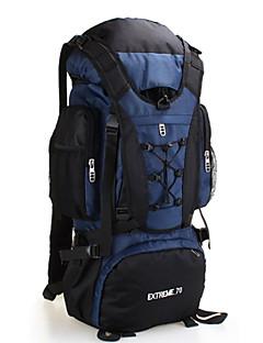 70 L Pacotes de Mochilas Mochilas de Escalada mochila Mochila para Excursão Alpinismo Acampar e Caminhar Fitness ViajarInsulação de Calor