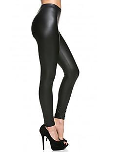 Vrouw Effen kleur Legging,Polyester