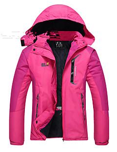 Mulheres Prova-de-Água Térmico/Quente A Prova de Vento Vestível Respirável Jaquetas Softshell Blusas para Acampar e Caminhar Inverno