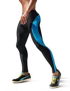 Homens Leggings de Corrida Camiseta Segunda Pele Secagem Rápida Alta Respirabilidade (>15,001g) Respirável Redutor de Suor Meia-calça