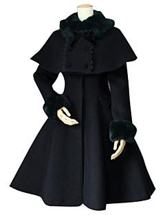 Päälystakki Gothic Lolita Klassinen ja Perinteinen Lolita Vintage-kokoelma Tyylikäs Viktoriaaninen Rokokoo Prinsessa Cosplay Lolita-mekot