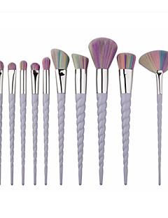 10 Peitevoidesivellin Viuhkasivellin Puuterisivellin Alusvoidesivellin Contour Brush Brush Lavastus Poskipunasivellin Luomivärisivellin