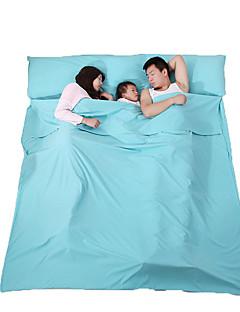 Nukkuma-alusta Makuupussi Sleeping Bag Liner Slumber Double 23 Polyester180 Matkailu IndoorKosteuden kestävä Hengitettävyys Puristus