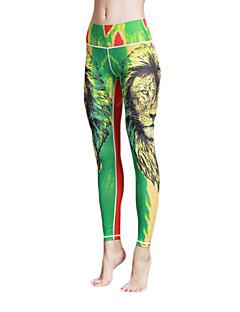 Yogabukser Tights Leggings Pustende Fort Tørring Naturlig Høy Elastisitet Drakter DameYoga & Danse Sko Pilates Trening & Fitness