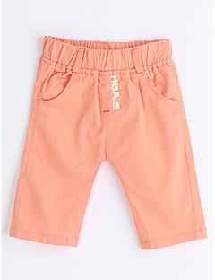 Boys' Solid Shorts-Cotton Summer