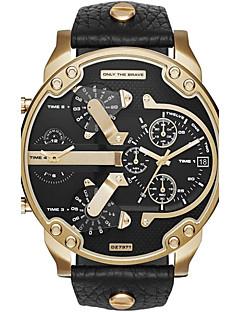 Herrn Paar Sportuhr Militäruhr Kleideruhr Modeuhr Armbanduhr Armband-Uhr Einzigartige kreative Uhr Armbanduhren für den Alltag Quartz