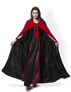 Kabát Cosplay Kostýmy Přehoz Čarodějnické koště Halloween Props Kostým na Večírek Maškarní Čaroděj/Čerodějnice Duch Upír cosplay