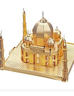 Puzzle Sada na domácí tvoření 3D puzzle Kovové puzzle Stavební bloky DIY hračky Slavné stavby Hliník