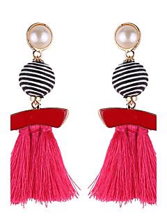 Damen Tropfen-Ohrringe Schmuck Modeschmuck Rosa Perle Schmuck Für Geburtstag Sonstiges Alltag Normal Party