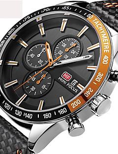 Pánské Děti Sportovní hodinky Vojenské hodinky Náramkové hodinky japonština Křemenný Kalendář Chronograf Voděodolné Rychloměr Stopky