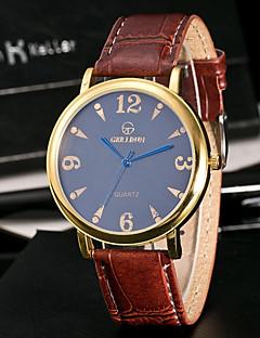 Pánské Sportovní hodinky Módní hodinky Unikátní Creative hodinky Hodinky na běžné nošení čínština Křemenný Voděodolné Kůže Kapela Běžné