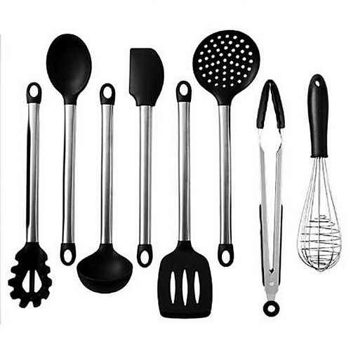 Silicone Stainless steel Dining and Kitchen Cookware Sets Tools Multi-functional Kitchen Utensils Tools Multifunction 2pcs
