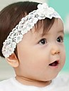 dantelă floare alb Banda elastica pentru copii