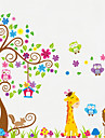 Animale Perete Postituri Autocolante perete plane Autocolante de Perete Decorative,Vinil Material Detașabil Pagina de decorarede perete