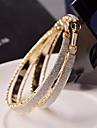 Pentru femei Cercei Rotunzi  Bijuterii Statement Festival/Sărbătoare de Mireasă costum de bijuterii Aliaj Circle Shape Bijuterii Pentru