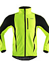Arsuxeo Veste de Cyclisme Homme Velo Veste Anorak fleece / Polaires Hauts/Tops Garder au chaud Pare-vent Design Anatomique Respirable