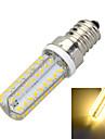 6W E14 Ampoules Mais LED B 72 SMD 3014 400-500 lm Blanc Chaud / Blanc Froid Decorative AC 100-240 V 1 piece