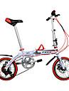 Velo pliant Velos pour enfants Cyclisme 6 Vitesse 14 pouces Shimano Frein a Double Disque Ordinaire Cadre en Alliage d\'Aluminium Pliage