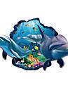 Animale / Peisaj Perete Postituri 3D Acțibilduri de Perete Autocolante de Perete Decorative,PVC Material Detașabil / Re-poziționabil